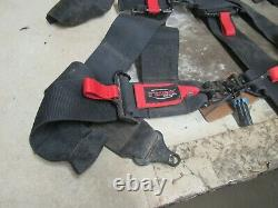 17 Polaris Rzr Xp 1000 Eps Tusk 4 Point Harness 3 Seat Belts Safety 31444