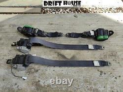 180SX Type-X Seat Belt Harness Original Genuine Used JDM RHD Setto 1996