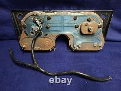 1967-1972 Chevy GMC C10 C20 Instrument Gauge Cluster 00,965 mi. With Harness NICE
