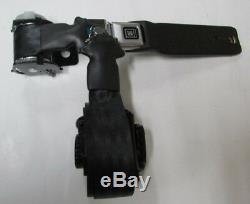 1974, 1975 Corvette Black Seat Belt Set Convertible + Harness + Sleeves + Bolts