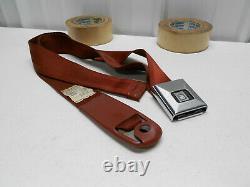 1 Nos 1968 Corvette Orig Tabacco Seat Belt Shoulder Harness #a85 Option L88 L89