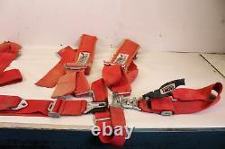 2008 Polaris Ranger Rzr 800 Crow Enterprizes 5 Pt Restraint Harness Seat Belts