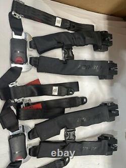 2-Can Am Maverick X3 Retractable 4 Point Harness Seatbelt SEAT BELT 0 MILES