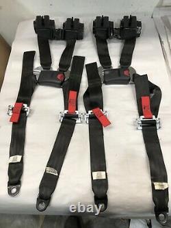 2-Can Am Maverick X3 Retractable 4 Point Harness Seatbelt SEAT BELT 2018 X3