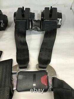 2-Can Am Maverick X3 Retractable 4 Point Harness Seatbelt SEAT BELT X3 2017-2021