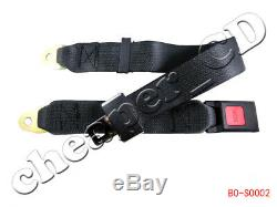 2 point Seat Safety Belt Harness Kit Go Kart UTV Buggie Single Double