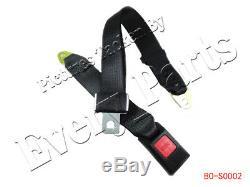 2 point Seat Saftey Belt Harness Kit Go Kart UTV Buggie Single Double 2 sets