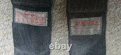 2 x Simpson harness / seat belts used condition