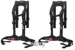 (2x) Dragonfire Racing Evo Harness Body Contoured Seat Belts 14-0040