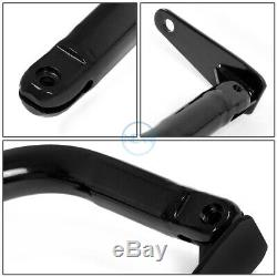 49Universal Racing Seat Belt Harness Bar Adjustable Chassis Support Rod Black