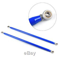 49 Blue Universal Stainless Steel Racing Safety Seat Belt Roll Harness Bar Rod