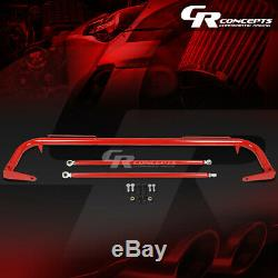 49 Coated Stainless Steel Racing Safety Seat Belt Harness Bar Across Rod Red