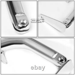 49 Coated Steel Racing Safety Seat Belt Chassis Roll Harness Bar/tie Rod Chrome