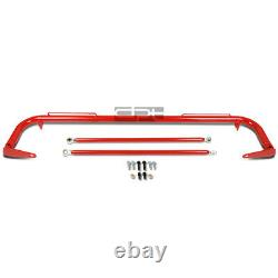 49 Coated Steel Racing Safety Seat Belt Chassis Roll Harness Bar/tie Rod Red