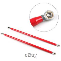49 Red Universal Stainless Steel Racing Safety Seat Belt Roll Harness Bar Rod