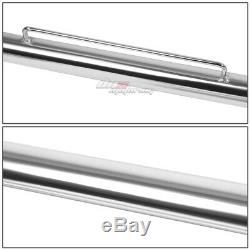 49 Stainless Racing Protection Safety Seat Belt Chassis Harness Bar Rod Chrome