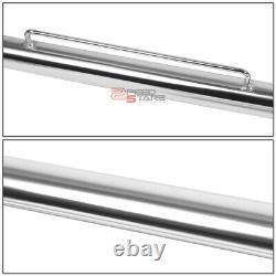 49chrome Racing Seat Belt Harness Tie Stabilize Bar Adjustable Support Rod+bolt