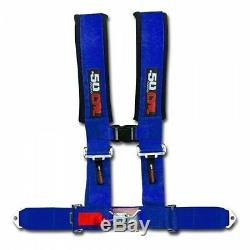 4 Point 3in Seat Belt Safety Harness IMCA IMSA Vintage Race Stock Car Street LS