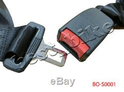 4 point Seat Saftey Belt Harness Kit Go Kart UTV Buggie Single Seat Taotao SUNL