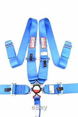 5 Point Five Point Sfi 16.1 Race Harness Floor Mount Seat Belt Cam Lock Bolt In