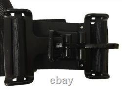 5 Point Racing Harness Seat Belts BLACK UltraShield Racing Belts RZR Razor PAIR