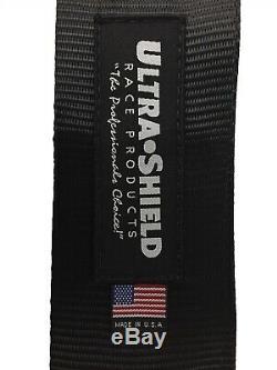 5 Point Racing Harness Seat Belts HANS Black UltraShield Racing Belts IMCA USMTS