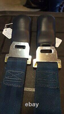 68 69 1968 1969 OEM Ford Mustang Seatbelt Seat belt Male Shoulder Harness BLUE
