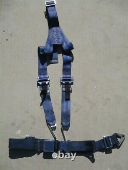 Aero Fabrications Y Type Blue Shoulder Harness Seat Belts P/n H-702-200