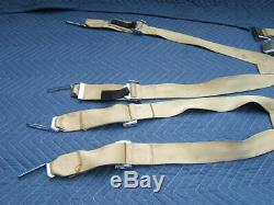 Aeronca seat belts shoulder harness /Aeronca Model 7 Champion/ Cessna 150/152