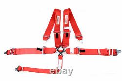 Any Color Racing Harness Sfi 16.1 Cam Lock Seat Belt 3 Universal 5 Point