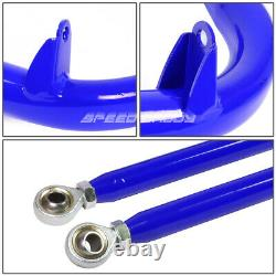 Blue 49stainless Steel Chassis Harness Bar+blue 6-pt Strap Camlock Seat Belt