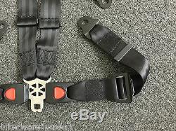 Buggy 4 Point Harness Seat Belt Set Universal Hammerhead Storm Buggy Funbike4
