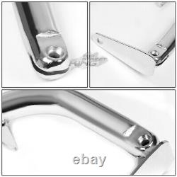 Chrome 49 Adjustable MILD Steel Safety Seat Belt Harness Bar With Support Rods