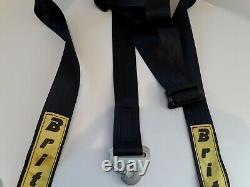 Classic Britax 3 point race rally seat belt harnesses. Porsche. Ford Mini