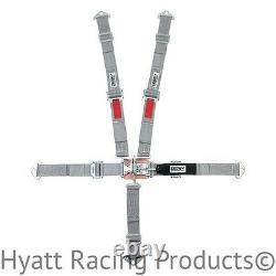 Crow Quarter Midget Racing Seat Belts Harness, Pull Down, Bolt In (11172-11176)