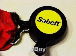 Ferrari 360 Seat Belts Six Point Harness Challenge SABELT 183380 NEW IN BOX OEM