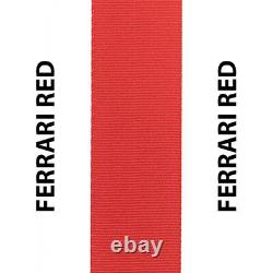 Fits Honda CIVIC Ferrari Red Seat Belt Webbing Replacement Seatbelt Harness