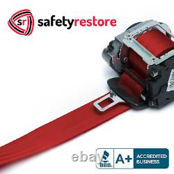 For Honda Type R Elegant Red Seat Belt Webbing Replacement Seatbelt Harness