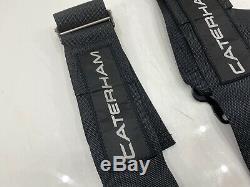 Genuine Caterham Seven Luke 4 Point Harness Seat Belt Kit Car