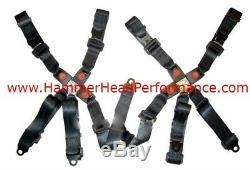 Go Kart Seat Seat Belt Harness Kit 150cc Hammerhead GTS 150 5 point Dual Set