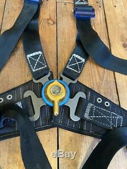 Gq Irvin 4 Point Seat Harness Safety Belt Rally Works Bmc Cooper S