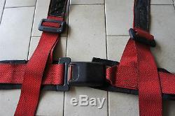 JDM used WILLANS racing harness seat belt gc8 ek9 dc2 itr ctr nissan r32 GTR