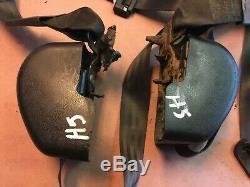 Jeep Yj front seat belts 92-95 Wrangler left right shoulder harness belt