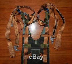 Martin Baker Parachute Harness TYPE B MK Aircraft Belt Pilot for Ejection Seat