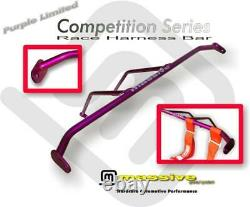 Massive Racing Race Harness Bar 5 Point Seat Belts Focus 00-07 ZX3 Roll Brace