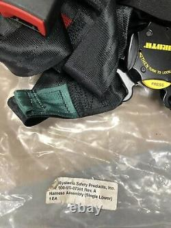 NEW Schroth 4-Point Military Helicopter Seat Belt Harness, Racing Hotrod Ratrod