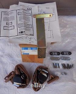 NOS 82-88 Camaro Trans Am Z28 Firebird rare GM rear seat belt shoulder harness