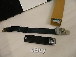 NOS GM 1970-71 Corvette Seat Belt Lap Harness Black TRW RCF-67
