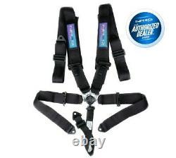 NRG 5 Point Cam Lock Seat Belt Harness (Black)