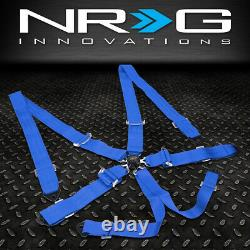 NRG INNOVATIONS SBH-6PCBL 6-POINT 2WIDTH SEAT BELT HARNESS WithCAM LOCK BUCKLE